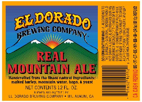 Real Mountain Ale Label