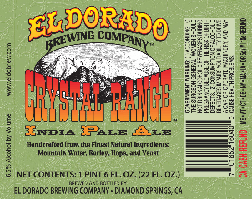 Crystal Range India Pale Ale