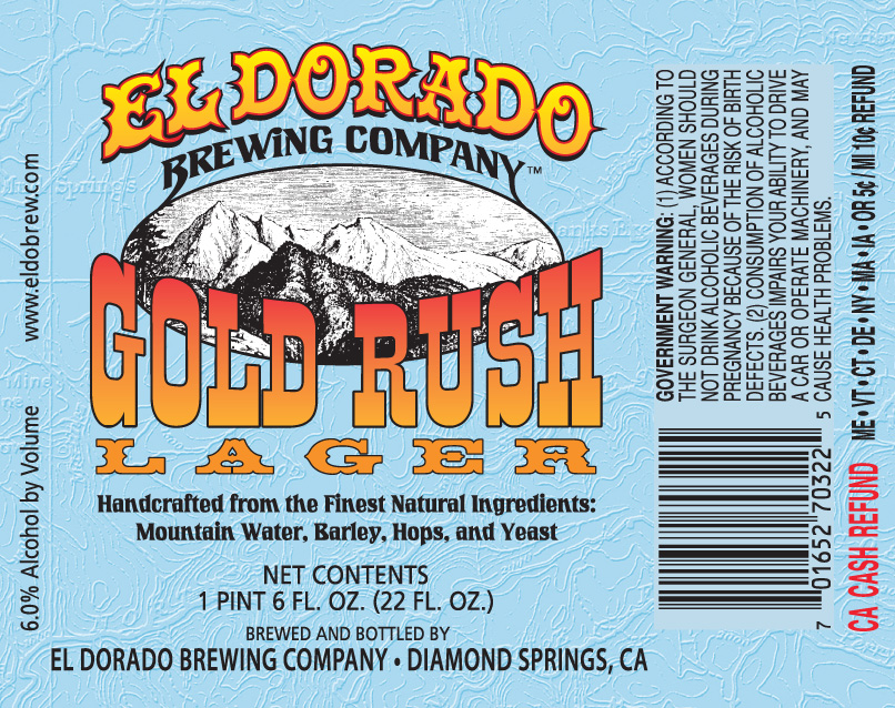 Gold Rush Lager