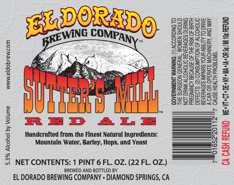 Sutter's Mill Red Ale