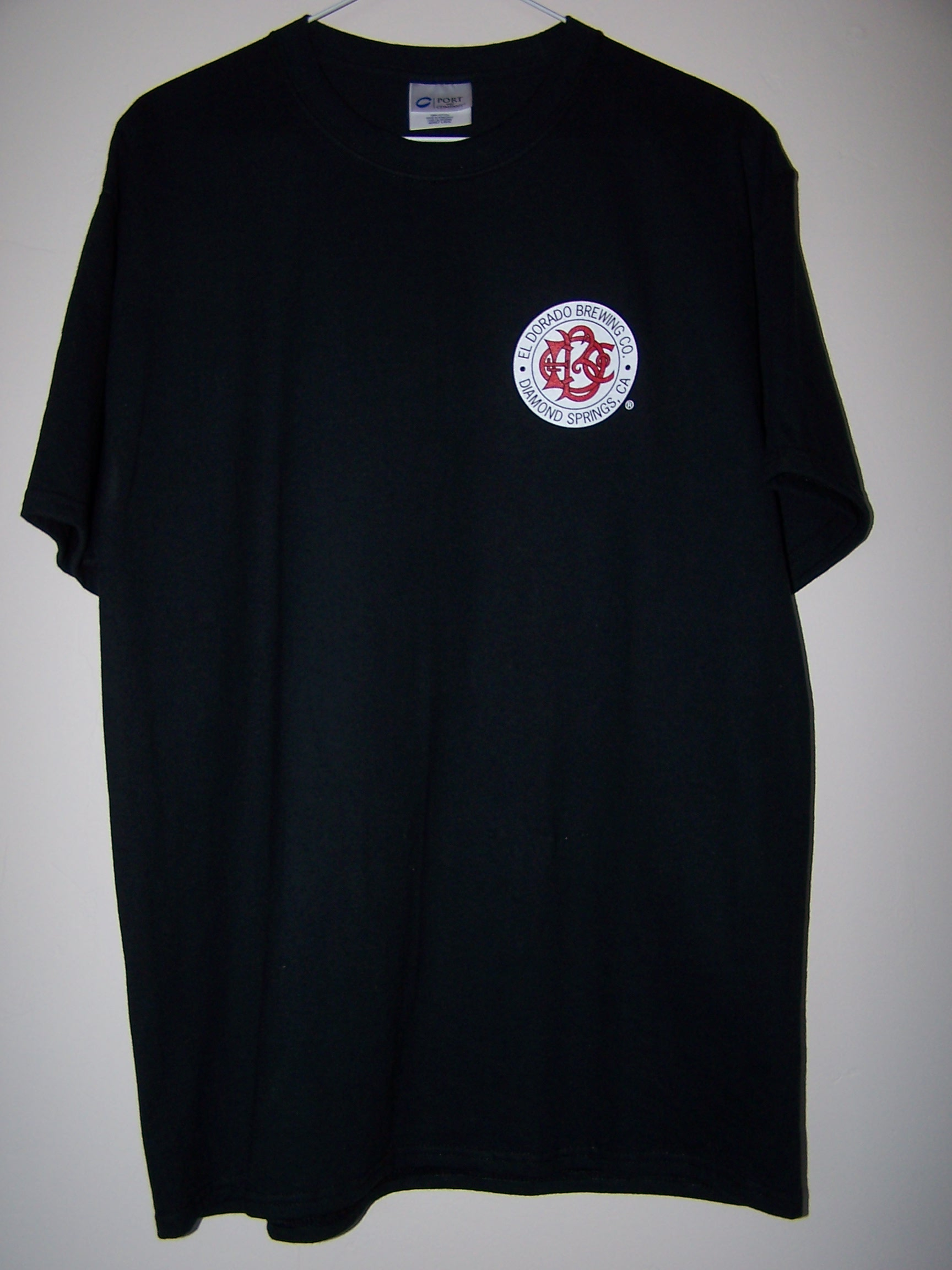 Black T-Shirt  $20-25 [Small Logo Front]